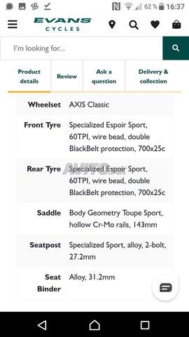 Specialised Allez Road Bike Edition Limitée - 6