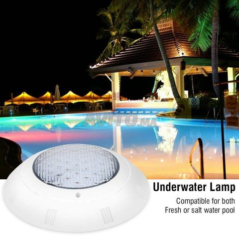 Projecteur piscine LED RGB 18-24W 12V - 3