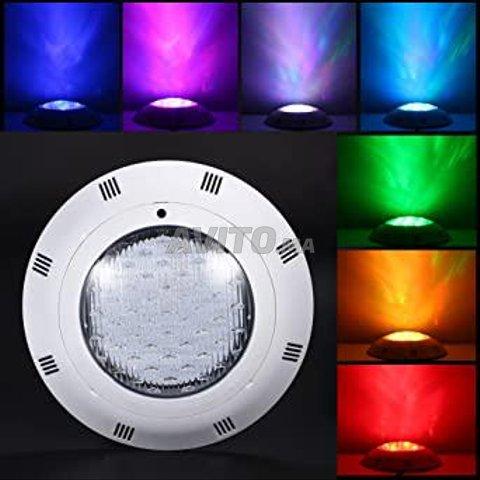 Projecteur piscine LED RGB 18-24W 12V - 4