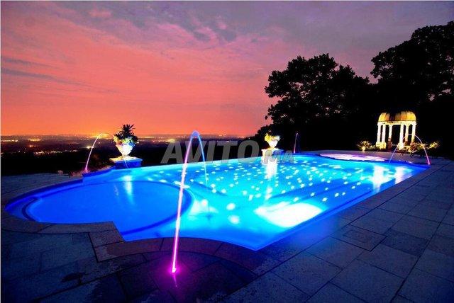 Projecteur piscine LED RGB 18-24W 12V - 1