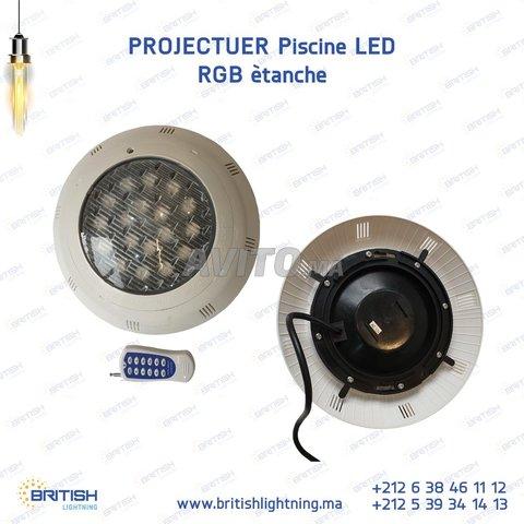 Projecteur piscine LED RGB 18-24W 12V - 6