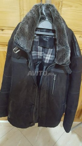 river skin leather jacket - 1