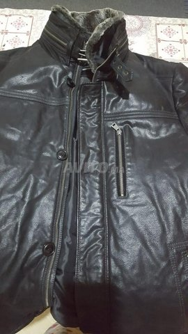 river skin leather jacket - 4