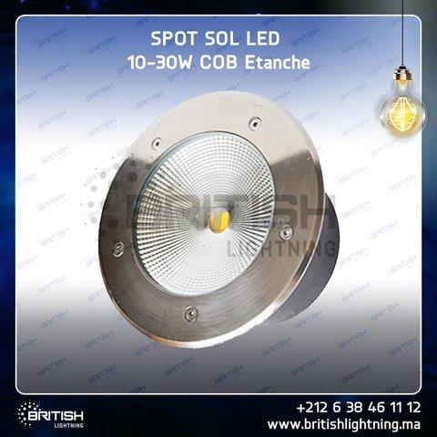 Spot sol 20W COB blanc chaud - 5