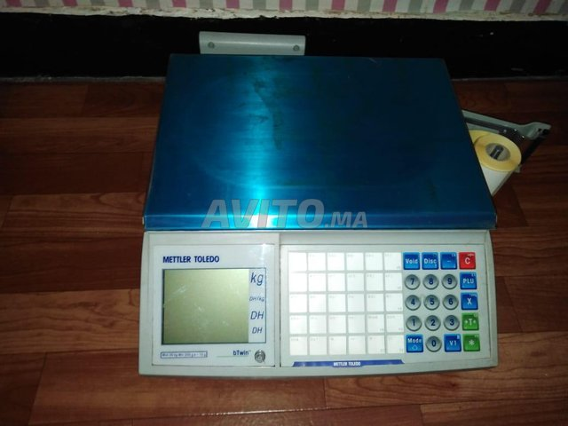 Balance etiqueteuse betwin mettler toledo 30kg - 1