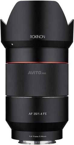 Rokinon AF 35mm f/1/4 Auto F/Wà fes - 5