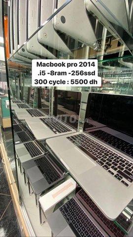 macbook pro 2014 I5 8ram 256SSD 300ycles à fes - 1
