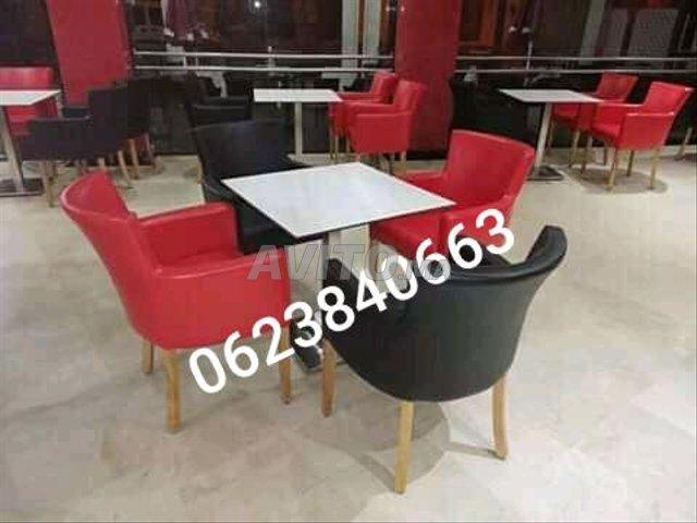 chaise café كراسي المقاهي  - 4