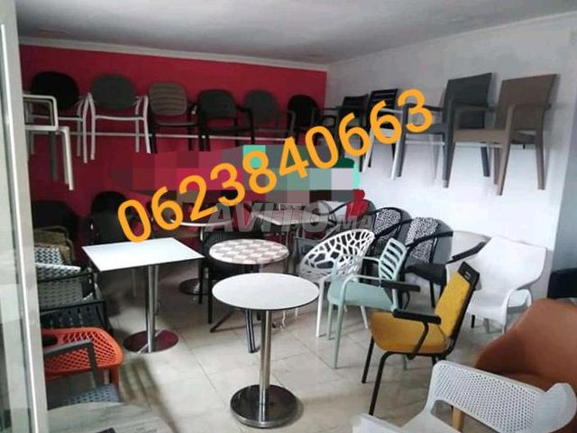 chaise café كراسي المقاهي  - 1