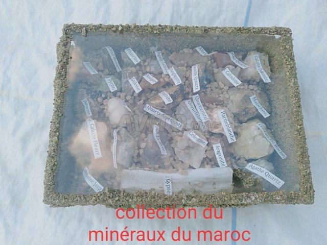 collection des minéraux - 2