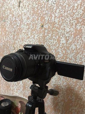 Canon 600d plus 2 batterie  - 3