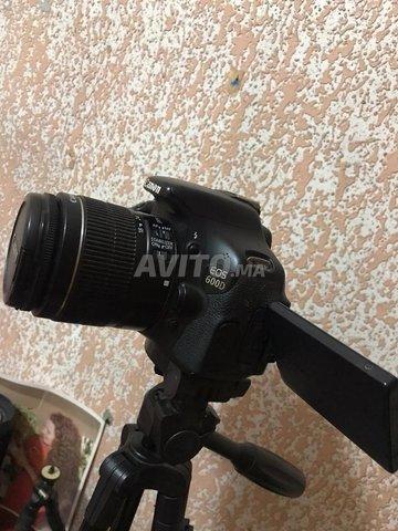 Canon 600d plus 2 batterie  - 4
