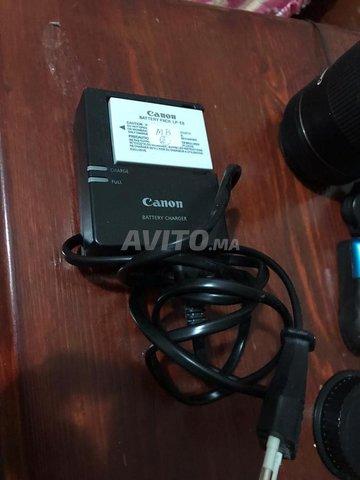 Canon 600d plus 2 batterie  - 1