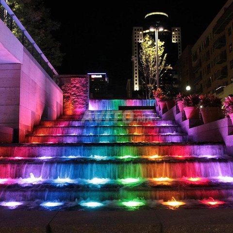 Projecteur fontaine LED RGB 9W 12/24V - 2