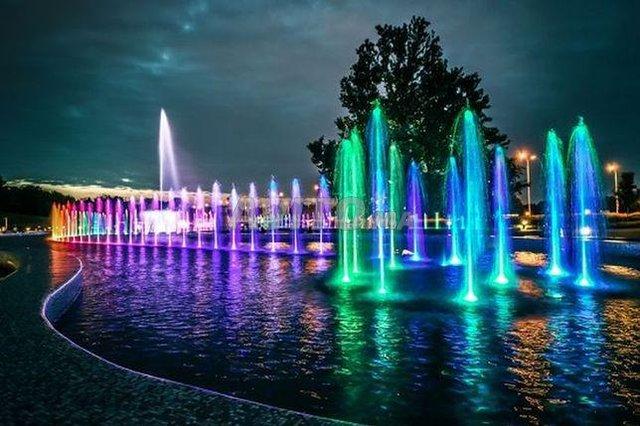Projecteur fontaine LED RGB 9W 12/24V - 1