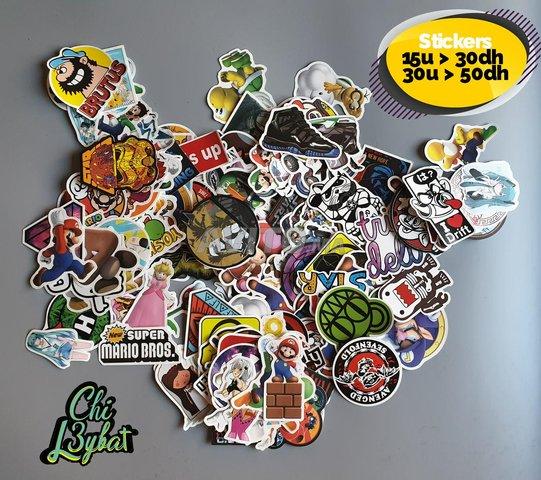 Pack de stickers - 1