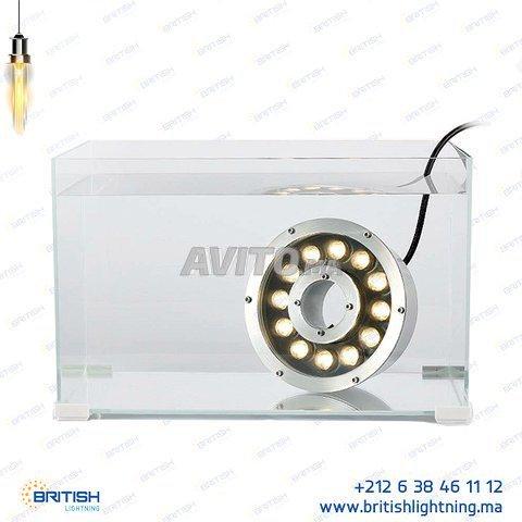 Projecteur fontaine LED RGB 9W 12/24V - 4