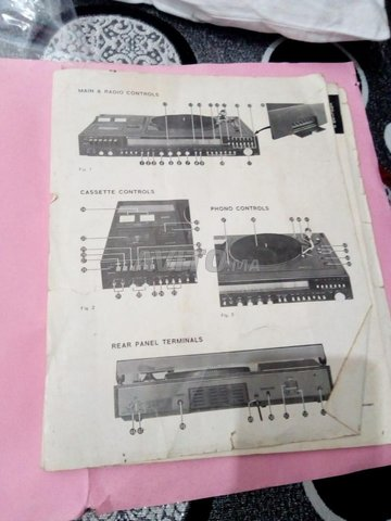 Radio cassette Phono - 5