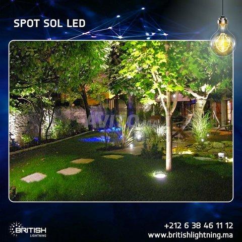 SPOT SOL COB LED 10-20W - 2