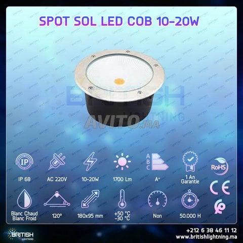 SPOT SOL COB LED 10-20W - 4