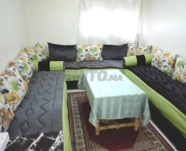 شقة مفروشة تتكون من غرفتين وصالون ومطبخ وحمام ودوش - 1