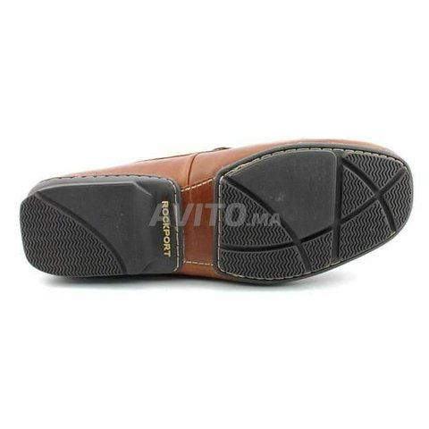 Mocassin Original Rockport Cuir Et Confortable - 3