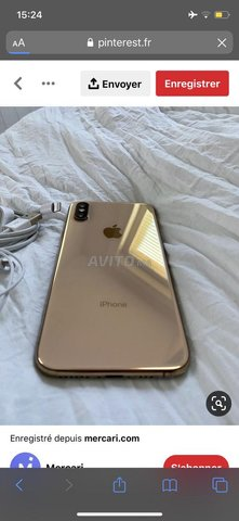 Iphone xs gold 64 g - 1