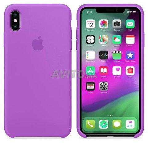 Coque iPhone Xs Max Etui Housse en Silicone - 1