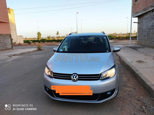 Voiture Volkswagen Touran 2011 à el-kelâa-des-sraghna  Diesel  - 6 chevaux