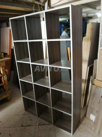 présentoir en bois en promo - 1