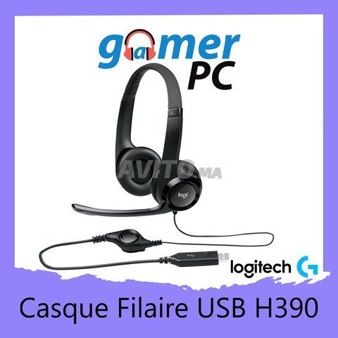 Logitech H390 Casque Filaire USB - 1