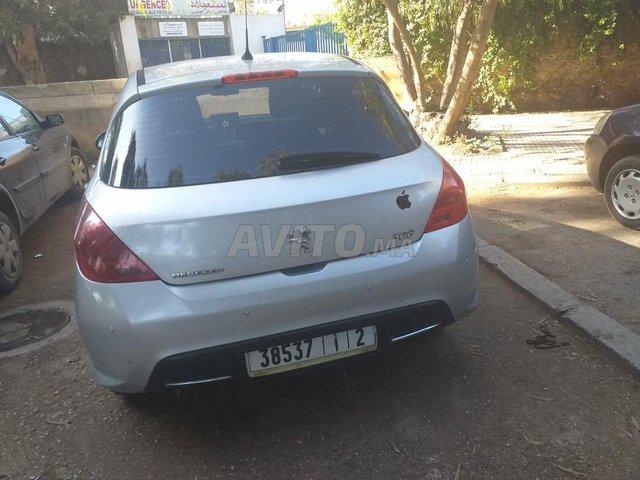 Voiture Peugeot 308 2010 à rabat  Diesel  - 7 chevaux