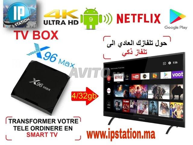 X96 MAX TV BOX 4/32GB Android9  - 1