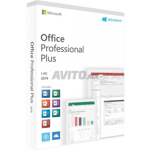 Microsoft office 2019 professional plus a vie - 1