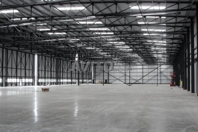 local industriel 1000 m² au sol Sidi Maarouf - 1