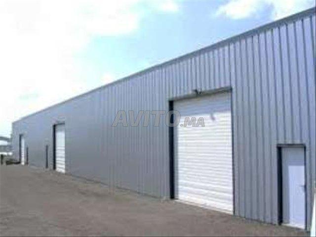 local industriel 1000 m² au sol Sidi Maarouf - 2