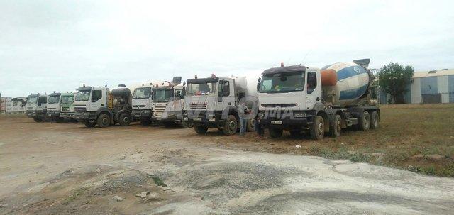 Location camion malaxeur toupie avec chauffeur - 1