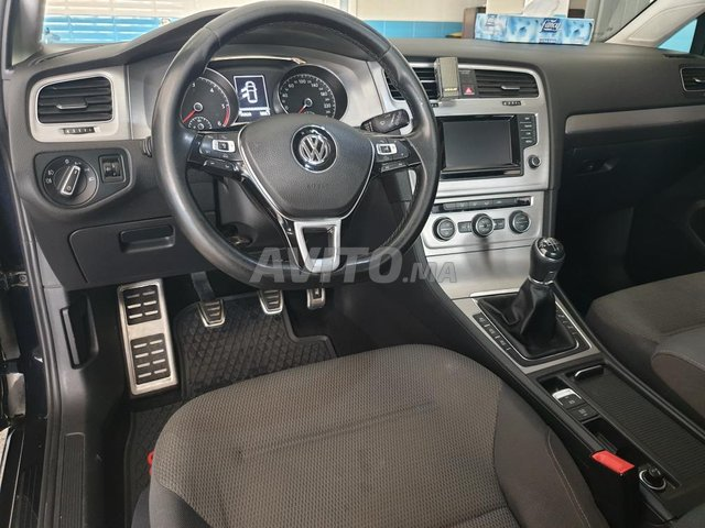 Voiture Volkswagen Golf 7 2014 à meknès  Diesel  - 7 chevaux