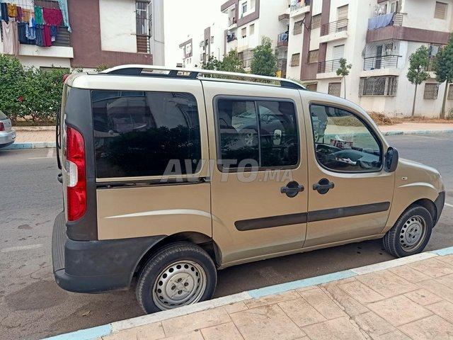 Voiture Fiat Doblo 2016 à casablanca  Diesel  - 5 chevaux