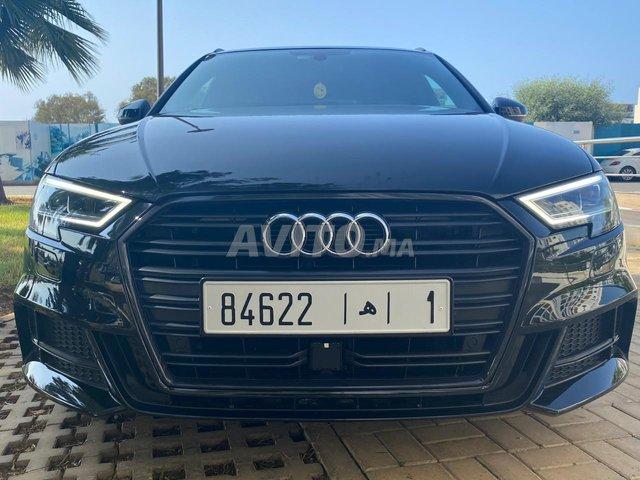 Voiture Audi A3 2017 à rabat  Diesel  - 8 chevaux