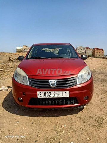 Voiture Dacia Sandero 2010 à salé  Diesel  - 6 chevaux