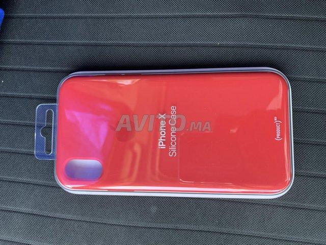 Pochette silicon iPhone X et XS  - 1