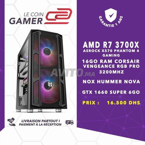 PC Gamer R7 3700X/ 16GO RAM/ GTX 1660 Super 6GO - 1