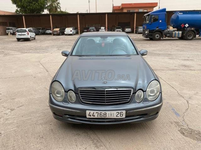 Voiture Mercedes benz Classe e 2006 à marrakech  Diesel  - 11 chevaux