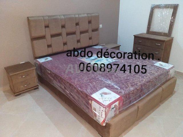 Lit Deux place tapissier 140/190 Disponible Ref009 - 1