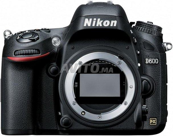 Nikon D600 24.3 MP FX Format Digital SLR Camera  - 1