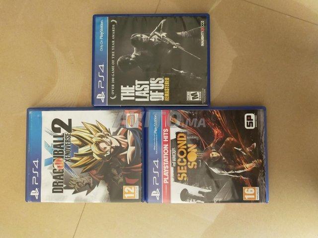 3 jeux vidéos - 1