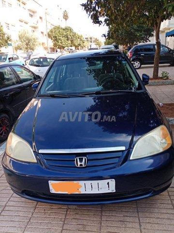 Voiture Honda Civic 2003 à rabat  Essence  - 8 chevaux