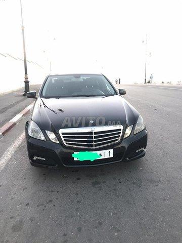 Voiture Mercedes benz Classe e 2010 à rabat  Diesel  - 9 chevaux