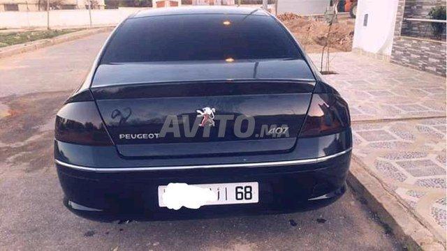 Voiture Peugeot 407 2007 à ajdir  Diesel